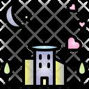 Honeymoon Valentine Heart Icon