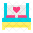 Honeymoon Bedroom Bed Icon