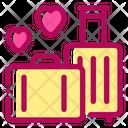 Honeymoon Travel Marriage Icon