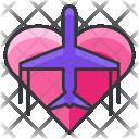 Travel Honeymoon Icon