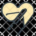 Honeymoon Plane Travel Icon