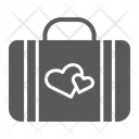 Honeymoon Briefcase Love Icon
