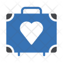 Bag Love Briefcase Icon