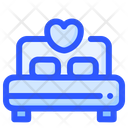 Honeymoon Bed Icon