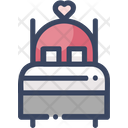 Bed Bedroom Sleep Icon