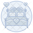 Honeymoon Bed Wedding Bed Bed Icon