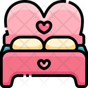 Honeymoon Bed Romance Bed Honeymoon Icon