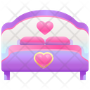 Honeymoon Bed Romance Bed Bed Icon