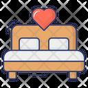Honeymoon Bed Icon