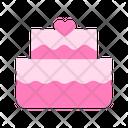 Honeymoon Cake Icon