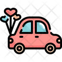 Honeymoon Car Icon