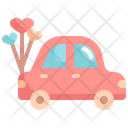 Honeymoon Car Icon
