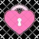 Honeymoon Lock Icon