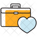 Honeymoon Luggage Wedding Suitcase Favourite Bag Icon