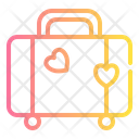 Luggage Love Romance Icon
