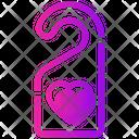 Valentine Day Honeymoon Prohibited Icon