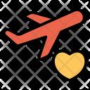 Honeymoon Travel Icon