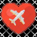 Honeymoon Travel Love Travel Love Journey Icon