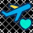 Honeymoon Travel Travelling Icon