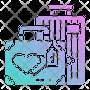 Honeymoon Trip Icon