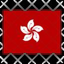 Hong Kong Flag Flags Icon