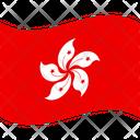 Flag Country Hong Kong Icon