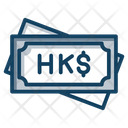 Hong Kong Dollar Icon
