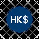 Hong Kong Dollar Banknote Paper Money Icon