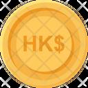 Hong Kong Dollars Coin Hong Kong Dollars Business Icon