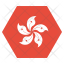 Hongkong National Country Icon