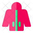 Jacket Wind Breaker Clothes Icon
