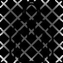 Hoodie Winter Wear Icon