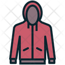 Cold Weather Clothing Icon