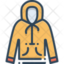 Hoodie Sweatshirt Pullove Icon