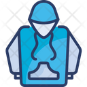 Clothes Hoodie Man Icon