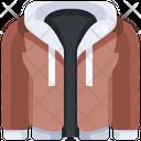 Hoodie Jacket Sweatshirt Icon