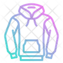 Hoodie Winter Clothing Icon