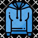 Hoody Hood Sweatshirt Icon