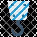 Hook Crane Lifter Icon
