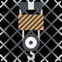 Hook Crane Industrial Icon