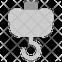 Hook Worker Working Icon