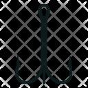 Hook Gear Triple Icon
