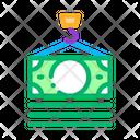 Hook Cash Bill Icon