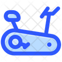 Exercise Bike Gym Icon