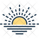 Horizon Skyline Sealine Icon