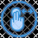 Horizontal Touch Icon