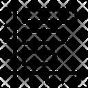 Horizontal Background White Icon