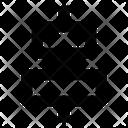 Horizontal Align Center Align Icon