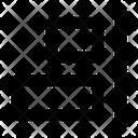 Horizontal Align Right Align Icon