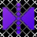 Horizontal Reflect Transform Reflect Icon